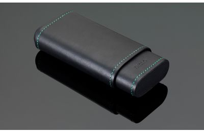 Stitches Leather Cigar Case