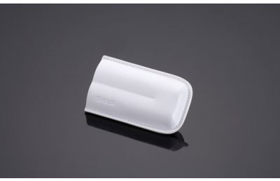 White Cigar Pouch (2 Finger Size)