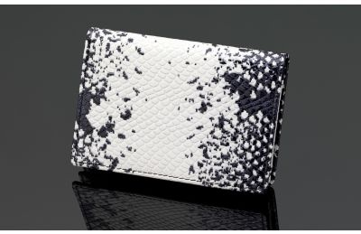 Serpent series - SIGLO Snakeskin name card case