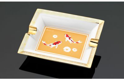 Koi Fish ashtray