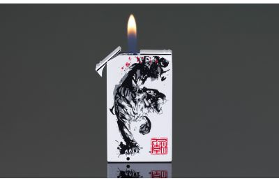 Twin-Flame Tattoo Lighter