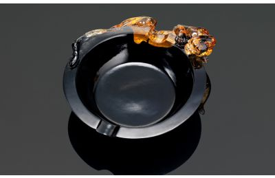 Leopard ashtray