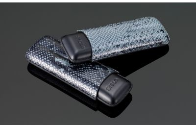 Serpent Series - Snakeskin cigar case 2'