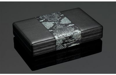 Snakeskin Travel Humidor