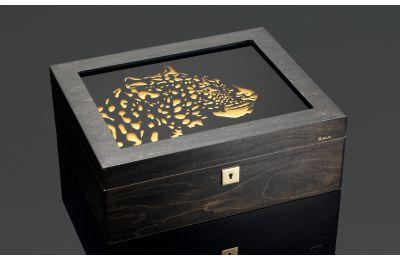 Leopard humidor